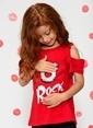 Morhipo Kids Baskılı Tişört Kırmızı